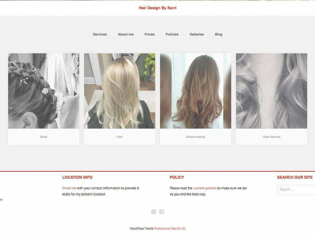 Hair Design by Kerri